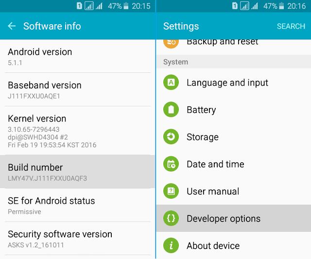 2 Cara Mudah Lock 4G LTE only Pada Smartphone Samsung Tanpa Root