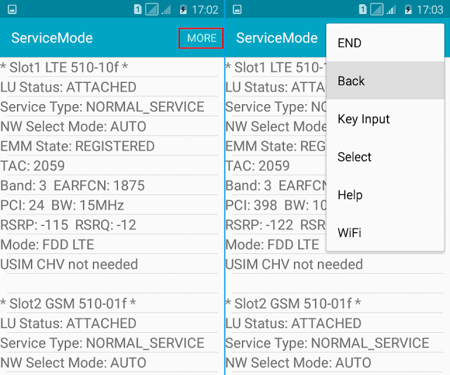 servicemode back lock 4g lte only
