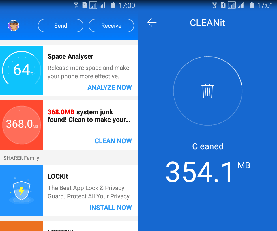 CLEANit by SHAREit