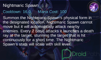 zhask mobile legends skill night spawn